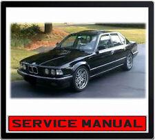 BMW 7 Series E32 735i 740i 750i 1988-1994 SERVICE REPAIR MANUAL IN DVD