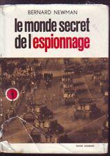 LE MONDE SECRET DE L ESPIONNAGE   NEWMAN