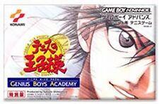 The Prince of Tennis GBA Advance Boys academy