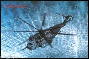 Vanguard MH-53E Sea Dragon Helicopter MCM Squadron 14 (HM-14) Postcard