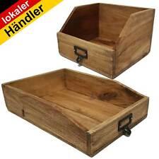 Vintage Holzablage Apotheker-Schublade Besteckkasten Ablage Dokumentenablage