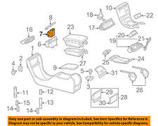 MERCEDES OEM 00-06 CL500 Center Console-Cup Holder 2156800014