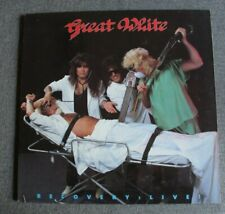 Great White, recovery - live, LP - 33 tours