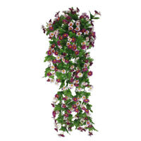 Artificial Daisy Vine 12 Branches False Silk Daisy Vine Wisteria Hanging Flower