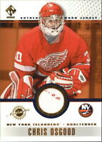 2001-02 Private Stock Game Gear #64 Chris Osgood Jsy