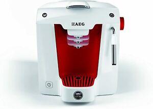 AEG LM5100RE-U A Modo Mio Favola Lavazza Espresso Coffee Machine Red/Ice White
