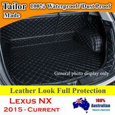 Leather Look Boot Liner Protector Cargo Mats Cover for Lexus NX 2015 - 2019