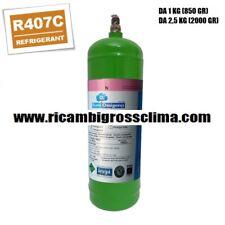 GAS REFRIGERANTE R407C BOMBOLA DA KG.1 - NETTO GR.850