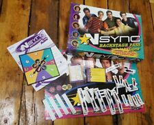 NSYNC Backstage Pass (Board Game, 2000) music boy band trivia RARE & COMPLETE!