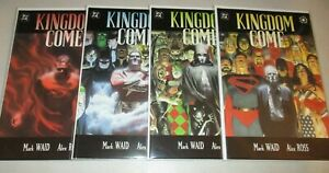 Kingdom Come #1-4 (Complete 1996 series) Alex Ross 1 2 3 4 Lot set run