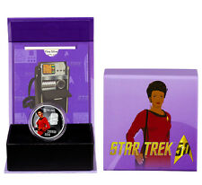 2016 Canada $10 1/2 oz. Colorized Proof Silver Star Trek - Uhura In OGP SKU42864