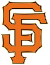 San Francisco Giants SF Orange Logo Sticker  |  Vinyl Decal  | 10 Sizes!!!