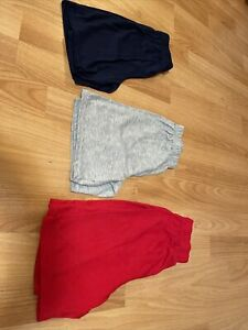 3 boys pajama shorts sz 8