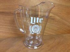Miller Lite Retro Beer 60 oz Plastic Beer Pitcher - 12 Pack Case - New in Box