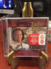Andre Rieu:  Love Songs (CD, 2006, Denon Records) Mfg. Sealed