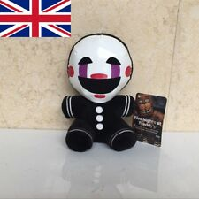 """6"""" FNAF Five Nights at Freddy's Nightmare Puppet Marionette Clown Plush Toy"""