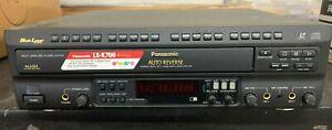 Panasonic LX-K700 Multi Laser Disc Player karaoke movies dvd