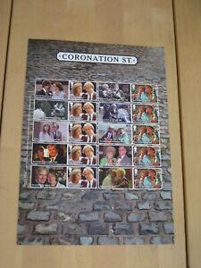 2020 Coronation Street Collector Sheet - Generic / Smiler Sheet LS123
