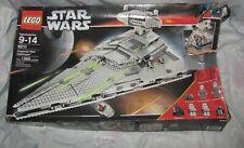 Lego set 6211 Star Wars Imperial Star Destroyer Incomplete, some Mini Figures