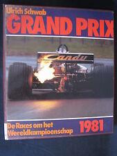 Peters Grand Prix 1981 (F1) Ulrich Schwab (Nederlands) (F1BC) ex-bibliotheekboek