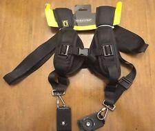 New - Quick Rapid Double Dual Shoulder Sling Belt Camera Strap