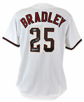 "D-Backs Archie Bradley ""Hollywood"" Authentic Signed White Majestic Jersey BAS"