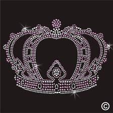 Crown Royal Princesse Strass Diamante Transfert Fer Sur Hotfix Cristal Motif
