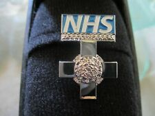 More details for stunning nhs george cross lapel badges - bulk buy - 10 per pack - say thank you.