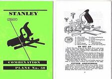 Stanley 50 Combination Plane Manual