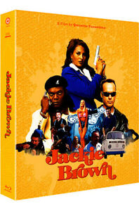 Jackie Brown BLU-RAY Steelbook Full Slip Type A1 / kimchiDVD, damaged