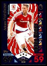 Match Attax 2016-2017 EXTRA Adam Forshaw Middlesbrough Update Card No. UC20