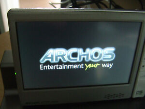 Archos 605 WiFi Audio Video Player Silver  - FAULTY For Spares ONLY