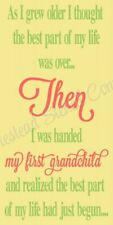 """Reusable Stencil 8480 N 12""""x24"""" As I Grew Older I Thought- Mylar Sign Stencil"""