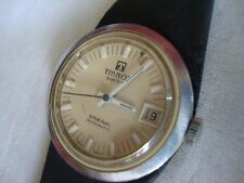 VINTAGE RARE TISSOT SIDERAL AUTOMATIC DATE FIBERGLASS  SWISS MADE IN 1960'S-70'S