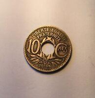 10 Centimes Lindauer 1922 Poissy N4