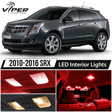2010-2016 Cadillac SRX Red LED Interior Lights Package Kit