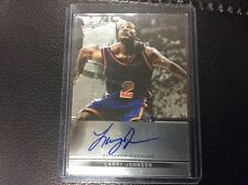 2013 Leaf Metal Larry Johnson Base on card Auto Autograph