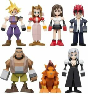 Final Fantasy VII Polygon Figure Pick Your Character FF7