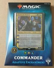 More details for commander 2018 deck adaptive enchantment - magic the gathering new english