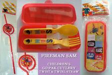 Children's Fireman Sam Cutlery