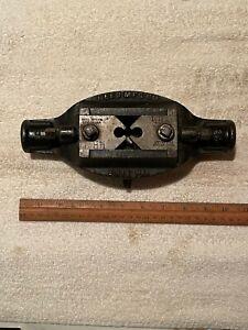 """Vintage Reed Mfg Co. Model 2A Pipe Threader Die Head w/ 1/4"""" Die Jaws"""