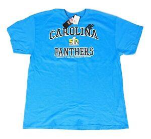Carolina Panthers Men's XL Shirt Super Bowl 50 Blue