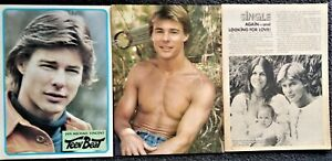 Jan Michael Vincent pinups & magazine clipping Airwolf, World's Greatest Athlete