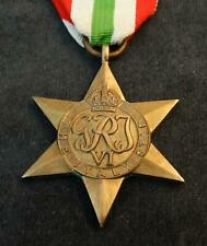 Orden England - The ITALY Star - 1939 - 1945, mit Tragband