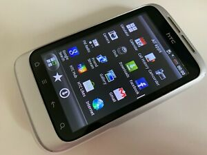 HTC Wildfire S - White (Unlocked) Android Smartphone  (Good condition)