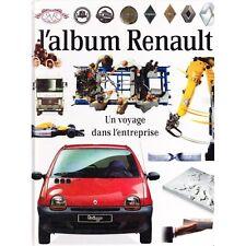 L'ALBUM RENAULT Voyage dans l'entreprise Modèles de voitures ILLUSTRATION 1993