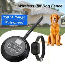 Pet Wireless Electric Fence Containment System Signal Transmitter Dog Training