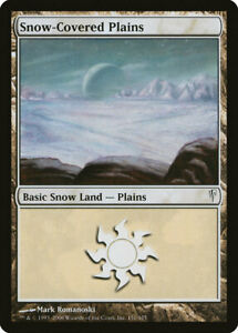 Snow Covered Plains - Magic the Gathering MtG