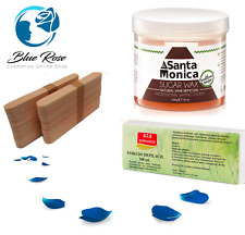 Sugaring Kit : Waxing Pot Sugar Paste 500g Wooden Tongue Spatulas Fabric Strips