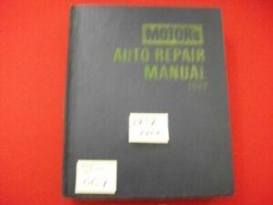 VINTAGE 1959-67 MOTOR'S MANUAL RESTORATION REPAIR ELDORADO CHARGER COMET 'CUDA +